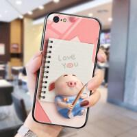 猪小屁苹果x手机壳7p玻璃套xsmax网红同款iphonex个性8plus创意XS情侣iphonex 苹果 iPhon