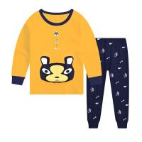 儿童秋衣秋裤套装男童装女童宝宝保暖内衣中大童小孩睡衣