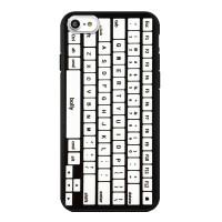 新款iPhone6s苹果6手机壳6plus手机套7键盘计算器保护壳个性创意黑壳 苹果6s PLUS键盘黑壳