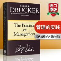 管理的实践 英文原版 The Practice of Management 全英文版罗辑思维 现代管理学之父 彼得德鲁