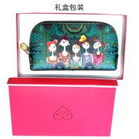 女式手拿小包印花包2018韩版夏天小清新时尚手机钱包潮款女士包袋