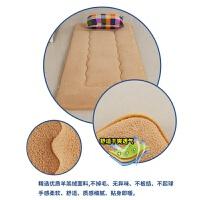 床垫学生宿舍军绿色垫子单人海绵垫1.2米床垫褥0.9m硬质棉垫