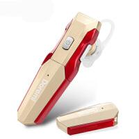 20190717070423501乐优品 D8蓝牙耳机无线4.1挂耳式4.0通用型可更换电池 听歌 听音乐三星小米蓝牙