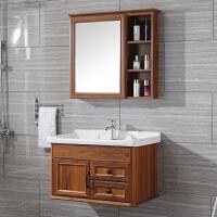 碳纤维浴室柜组合卫生间吊柜洗手盆小户型洗漱现代简约台面盆挂墙
