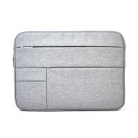 内胆包内胆包12笔记本电脑保护套毛毡13 15寸手提包约 12寸灰色