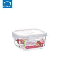 乐扣乐扣保鲜盒耐热玻璃饭盒微波炉烤箱可用密封碗便当碗冰箱储物 正【500ml】