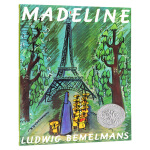 玛德琳 英文原版绘本 Madeline 凯迪克银奖 廖彩杏吴敏兰书单 英文版儿童英语图画故事书 进口原版书籍