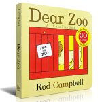 Dear Zoo: A Lift-the-Flap Book [Board book] 亲爱的动物园(大奖幼儿图画卡板书) 9781416947370