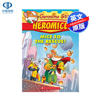 英文原版 老鼠记者第1卷 拯救老鼠 Geronimo Stilton Heromice #1: Mice to the