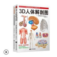 3d人体解剖图 全彩图谱医学人体肌肉解剖运动解剖学断层局部解剖学图谱解剖书教材卫生解剖生理学基础医学运动人体解剖学
