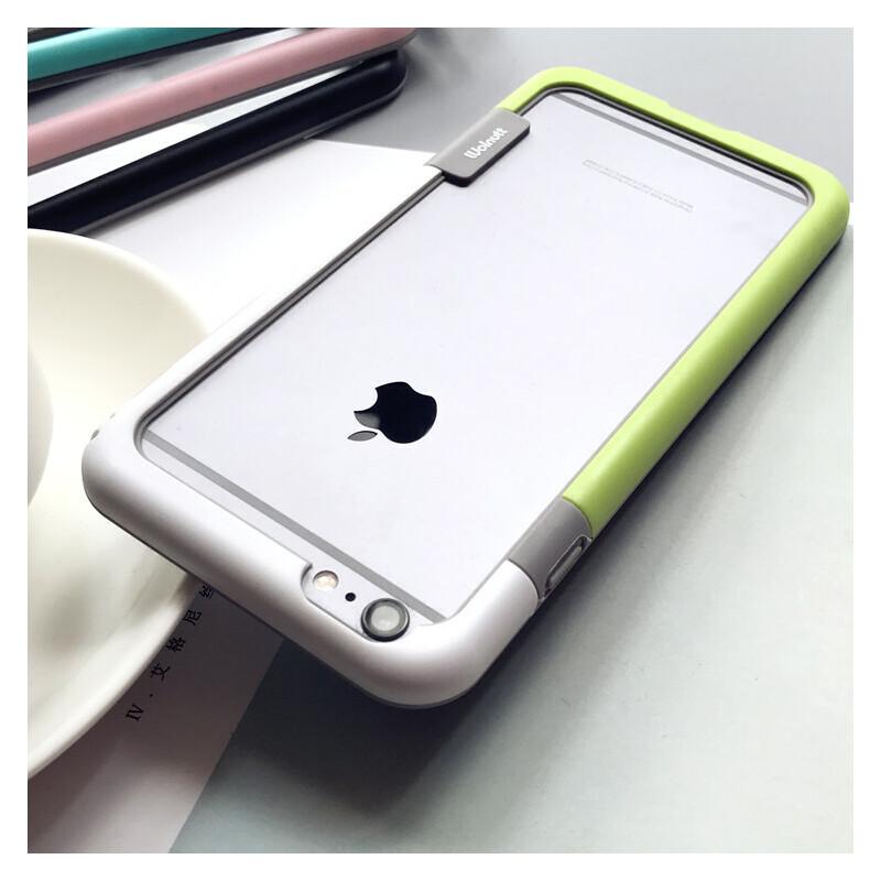 拼色边框iPhone6s手机壳XS苹果Max防摔保护套7plus硅胶软XR潮女8x