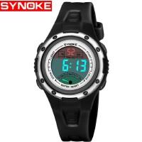 时诺刻/SYNOKE 儿童电子手表 儿童生活防水户外运动电子表 LED女孩电子手表