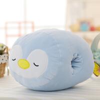 ???卡通动物暖手毛绒 抱枕玩午睡枕熊猫青蛙暖手捂 30厘米