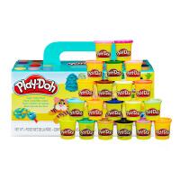 培乐多彩泥20色装基础装 橡皮泥无毒玩具女孩儿童节礼物 益智玩具