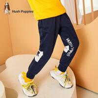 【秒杀价:149元】暇步士童装男童针织长裤春装新款洋气中大童运动裤宝宝休闲裤