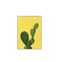绿植仙人掌北欧极简室内装饰画客厅壁画沙发背景墙画挂画玄关