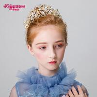 女孩头箍饰品公主王冠发箍儿童头饰皇冠女童发饰头花