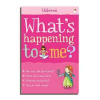 What's Happening to Me?: Girl 英文原版 我怎么了?女孩青春期成长指南 Usborne出版