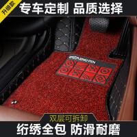 五菱宏光S3七座专车专用全包围脚垫宏光S3丝圈双层大包围脚垫防水