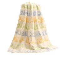 婴儿盖毯纯棉新生儿纱布春夏季宝宝毛毯子儿童大毛巾被空调被春秋