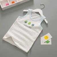 儿童背心宝宝无袖女童内衣婴儿护肚小背心男童夏童装夏季t恤