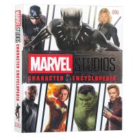 DK漫威影业角色百科全书 英文原版 Marvel Studios Character Encyclopedia 影视导