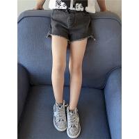 女童牛仔短裤夏季新款小女孩韩版热裤童装儿童夏装薄款裤子潮