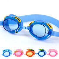 卡通游泳镜 小孩游泳眼镜 防水防雾儿童泳镜