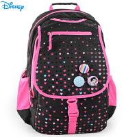 迪士尼书包小学生女童3-4-6年级初中冰雪公主休闲双肩包儿童背包