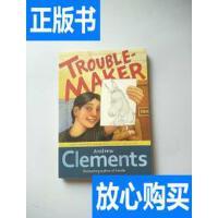 [二手旧书9成新]Troublemaker 就爱找麻烦 (粉灵豆) /Andrew Clem