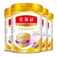伊利 金领冠儿童配方奶粉 4段 900g 4桶