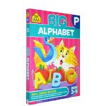 【3-5岁字母练习】School Zone Big Alphabet Workbook 字母练习 儿童描点彩绘英文学习