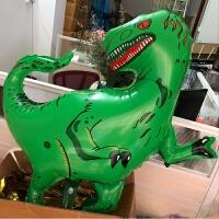 卡通造型龙霸王龙铝箔球恐龙玩具儿童主题派对生日装饰气球 新款 恐龙 霸王龙