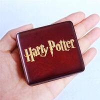 音乐盒Harry potter电影周边刻字礼物木制发条手摇八音盒