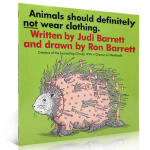 【发顺丰】英文原版 Animals Should Definitely Not Wear Clothing 动物不该穿