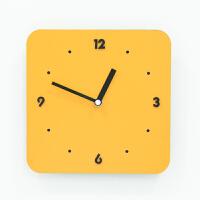 新款钟表挂钟创意时尚客厅个性亚克力石英钟简约现代挂表 其他
