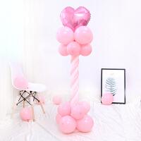 18寸心形婚庆气球立柱装饰结婚气球拱门婚礼路引浪漫创意布置用品