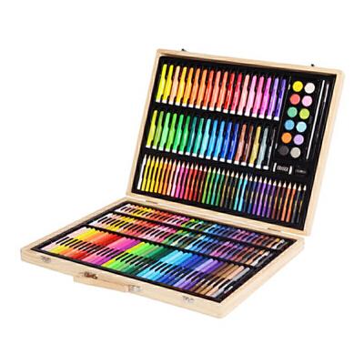 小学生水彩笔美术文具学习用品儿童绘画套装画画工具36色画笔礼物