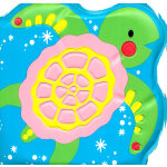 Bath Buddies: Little Turtle 洗澡书:小海龟 (ISBN9781405052948)