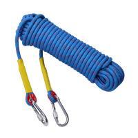 户外攀岩绳12毫米登山绳静力绳攀岩装备速降绳索攀岩安全攀登绳子 50米