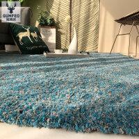 北欧地毯现代简约客厅茶几垫卧室床边毯家用满铺可爱公主榻榻米