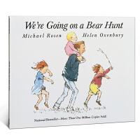英文原版绘本 We're are Going on a Bear Hunt我们一起去猎熊亲子育儿亲情父爱趣味故事进口童书3-6岁幼儿阅读 廖彩杏推荐送音频