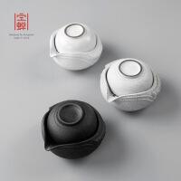 旅行快客杯一壶一杯功夫茶具茶杯套装陶陶瓷单人便携