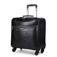 拉杆箱万向轮密码箱20寸22行李箱寸旅行箱s6 黑色 18寸