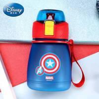 迪士尼夏季水壶便携随手杯子男女小学生塑料水杯迷你耐摔儿童水瓶