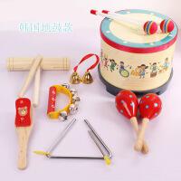 ?奥尔夫乐器鼓儿童敲鼓打鼓玩具手拍鼓军鼓手鼓打击乐器婴儿宝宝鼓