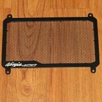川崎 NINJA400摩托车水箱网 Kawasaki忍者400水冷散热保护网罩