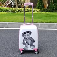 儿童拉杆行李旅行箱19寸卡通箱女童公主18寸定制万向轮登机箱