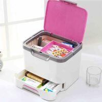 大号医药箱化妆箱 多功能家用药品收纳箱急救箱收纳盒 手提药箱多层箱家用药盒