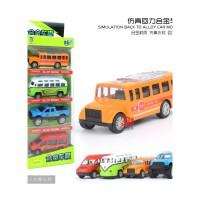 合金玩具小汽车套装模型儿童回力车救护警察车小男孩玩具车组合 抖音